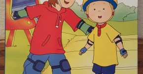 Caillou the Courageous