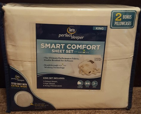 Serta Smart Comfort Sheet Set Tiffany Amp Stephanie Reviews