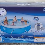 Bestway 10′ x 30″ Inflatable Fast Set Pool Kit