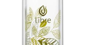 Libre Lively Leaves Glass Infuser