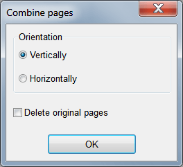 combine pages