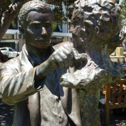 Statue of sculptor Pietro Porcelli - Fremantle, WA
