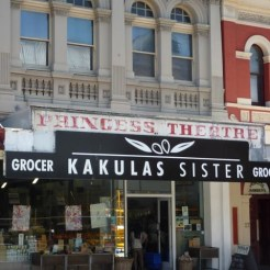 Exterior of Kauklas Sister delicatessen in Fremantle, WA