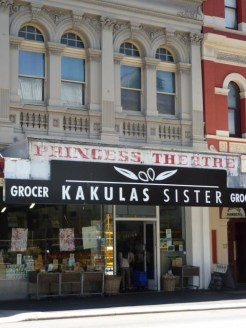 Exterior of Kauklas Sister delicatessen in Fremantle, WA