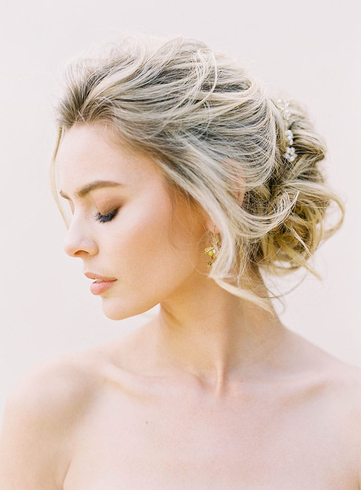Jen Huang: Fine Art Wedding Photography, Bride With Eyes Closed