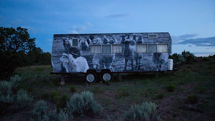 Public Artist At Work, Navajo Nation