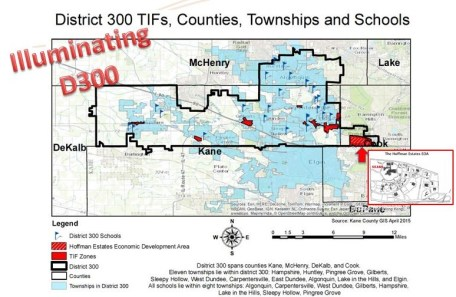 District 300 has seven active TIFs.