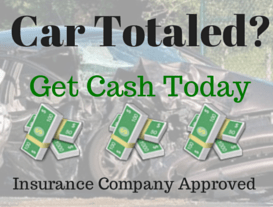 totaled or wrecked car buyer, salvage title junk car buyer