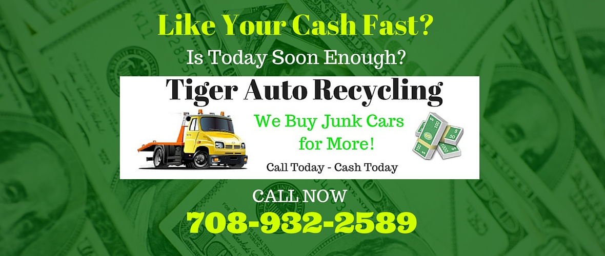 Junk car buyers, cash for junk cars, chicago heights, il tiger auto ...
