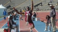 Aaron Rogers captures a silver medal for Texas Southern during the 2013 SWAC Outdoor Track and Field Championships. Read more here: TSUBall.com