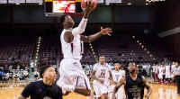 Texas Southern moved into a tie for second place with Alabama State 8 after beating the Hornets 86-66 in a pivotal Southwestern Athletic Conference contests. …read more Read more here: […]