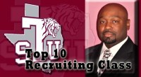 Texas Southern's 2014 Recruiting Class ranked 9th in among HBCU FCS programs. …read more Read more here: TSUBall.com Related posts: 19 New Tigers Set to Join the TSU Football Program […]