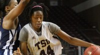 Texas Southern University's bench came on strong Monday night at H&PE Arena defeating Jackson State …read more Read more here: TSUBall.com Related posts: Lady Tigers Win 10th Straight Game Defeating […]