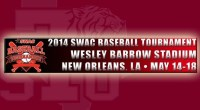 The Southwestern Athletic Conference announced the bracket for the 2014 SWAC Baseball Tournament, held May 14-18 at New Orleans (La.) MLB Urban Youth Academy at Wesley Barrow Stadium. …read more […]