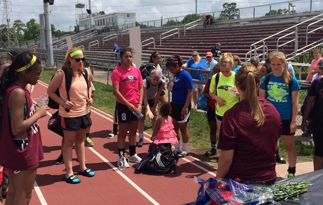 Lady Tigers Soccer host Youth Camp