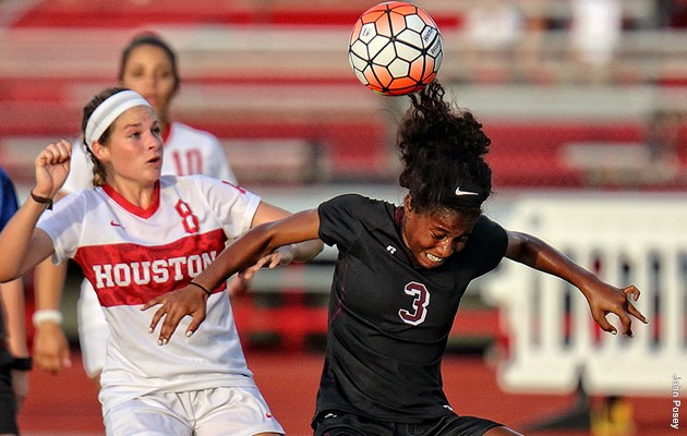 Houston defeats Lady Tigers in 2017 soccer opener