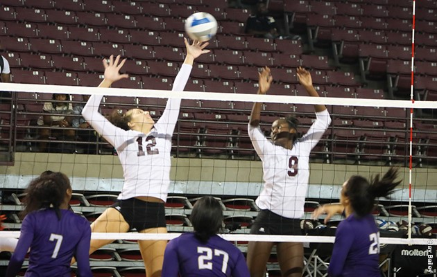 Lady Tigers turn away Jarvis Christian in three sets