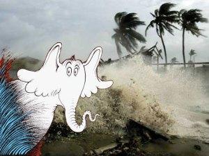 Horton Hears an Oncoming Hurricane