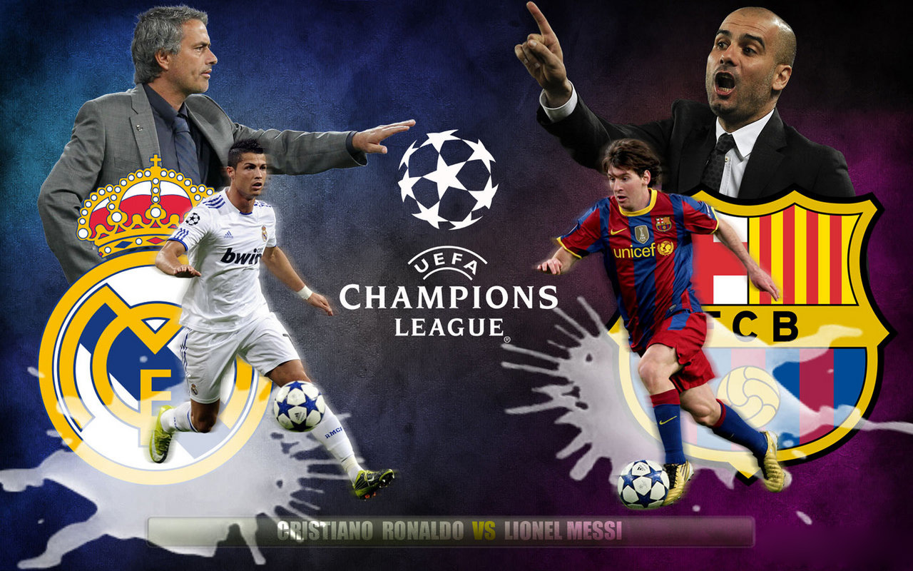 on may 19th fc barcelona and real madrid cf will take the uefa champions league final already the biggest football