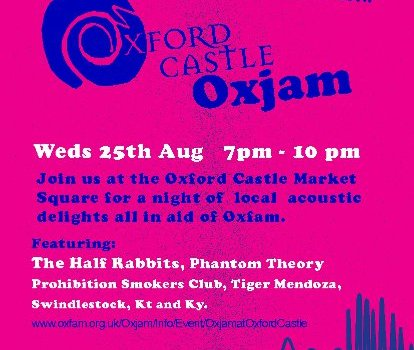 Oxjam @ Oxford Castle