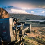 Leanne Gater filming The Tigers Of Scotland