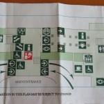 Hermitage entrance map