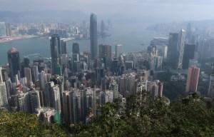 Hong Kong peak view