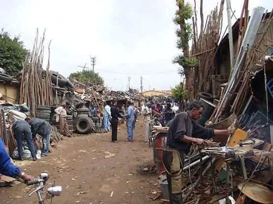 A neighborhood in Asmara, Eritrea photo by Edmund Sanders / TPN