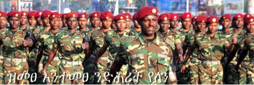 Ethiopian army standing guard for Ethiopia - Tigrai Online