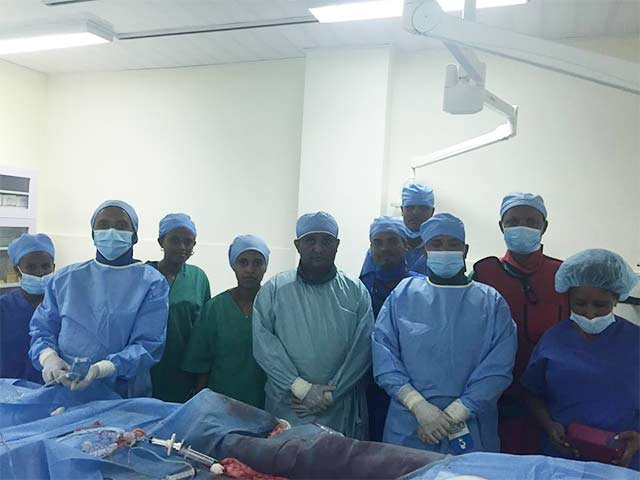 Ayder Referral University Hospital in Mekelle has become the only Government Hospital in Ethiopia to perform the first PCI