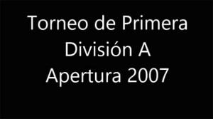 Video del día: Todos los goles de Tigre en el Apertura 2007