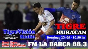 Tigre recibe a Huracán en un domingo caliente
