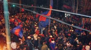Convocan a un banderazo en la previa al partido con Independiente
