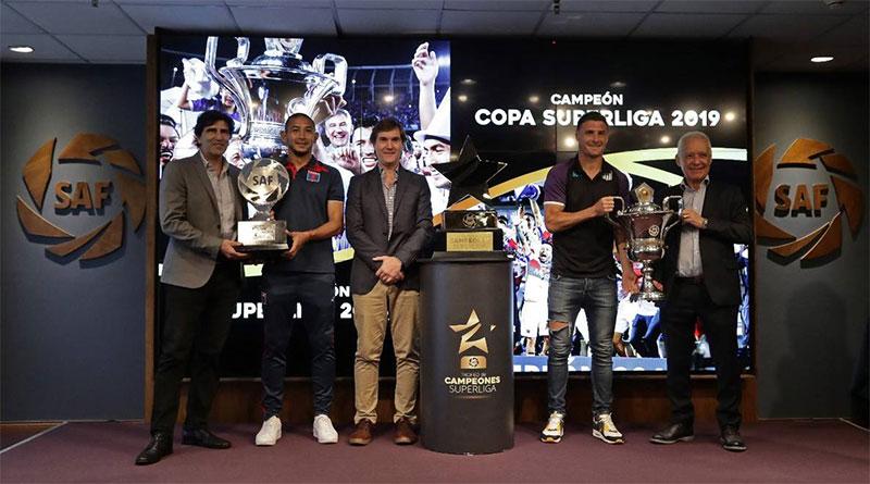 La SAF presentó el Trofeo de Campeones