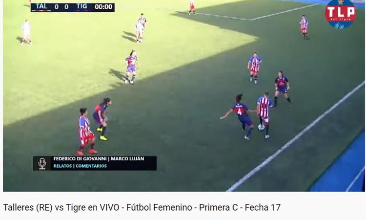 El Fútbol Femenino por Streaming