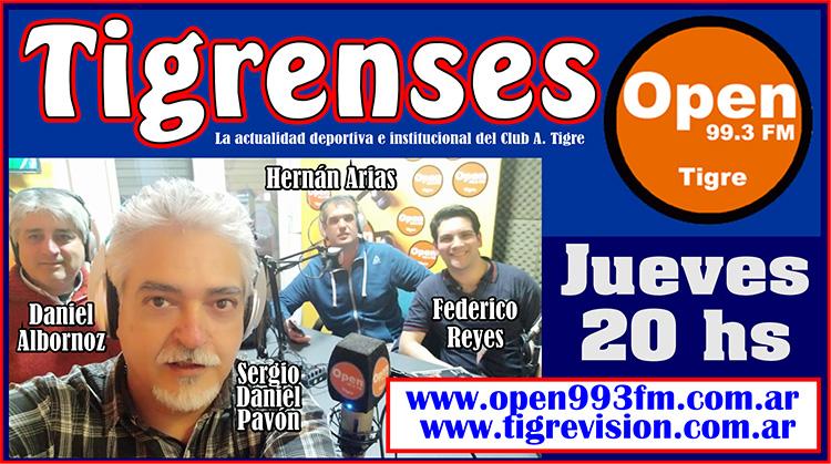 Esta noche una nueva emisión de TIGRENSES