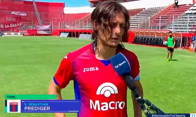 """Sebastián Prediger: """"El partido fue parejo, pero fuimos justos ganadores"""""""