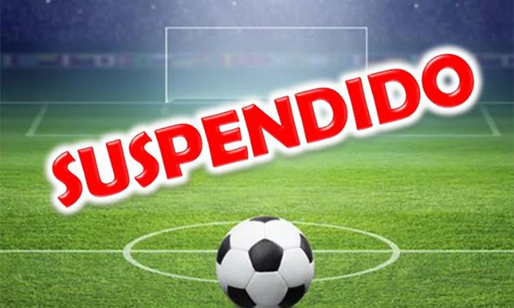 Se confirmó la suspensión del fútbol