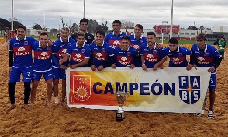Tigre Campeón de la Liga Argentina de Fútbol Playa