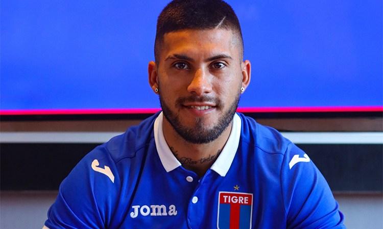 Milton Céliz ya es jugador de Tigre