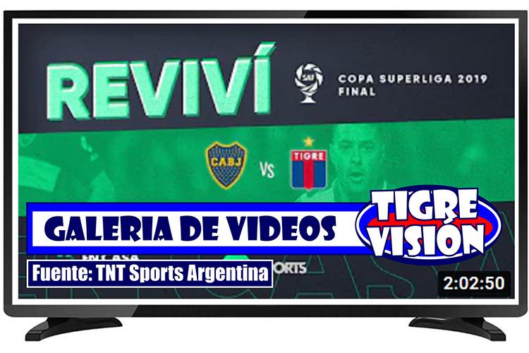 Clásicos de TNT Sports: Boca – Tigre