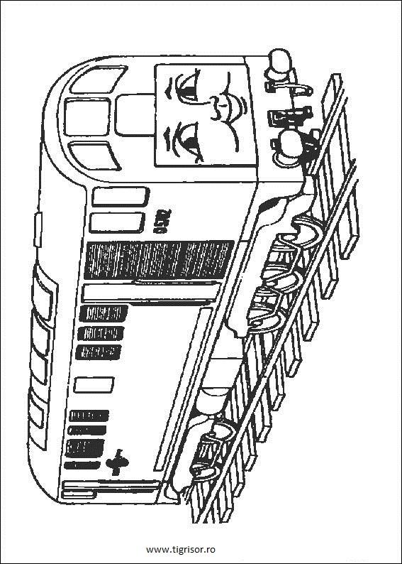 Plansa Decolorat Cu Un Trenulet Din Thomas Trenuletul Si