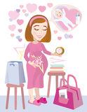 Bagajul gravidei pentru nastere la spital