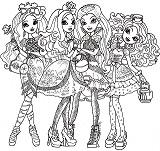 briar_beauty, apple_white, raven_queen, madeline_hatter