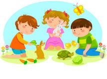 Ce influenta au animalele si natura asupra dezvoltarii copiilor