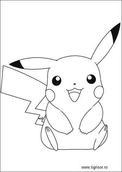 Cars Kleurplaat A4 Formaat Pokemon Pikachu Si Prietenii Plansa De Colorat 3