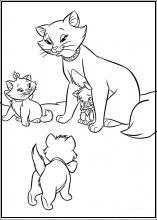 Planse De Colorat Cu Pisicile Aristocrate Tigrisorro