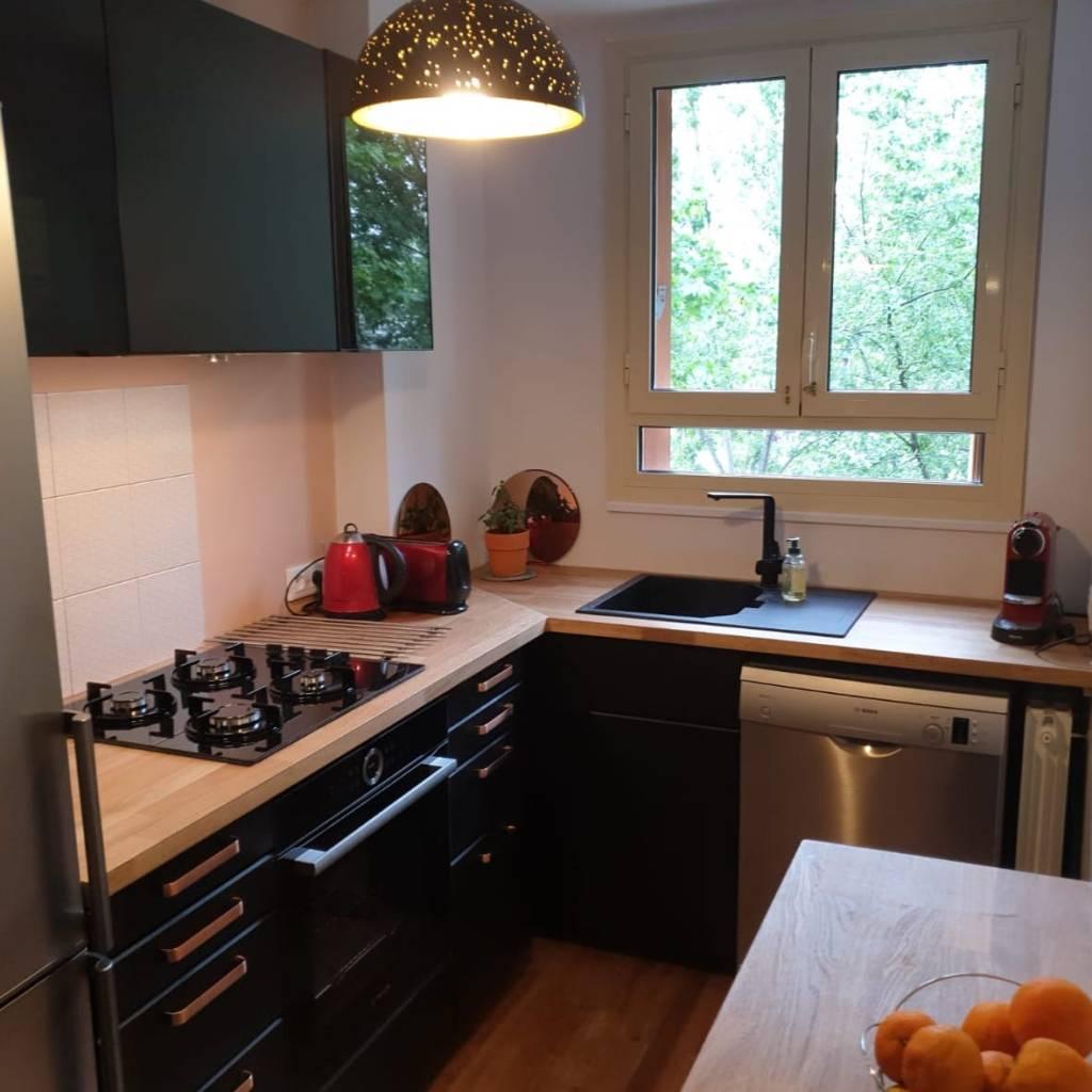 Montage de cuisine à Paris