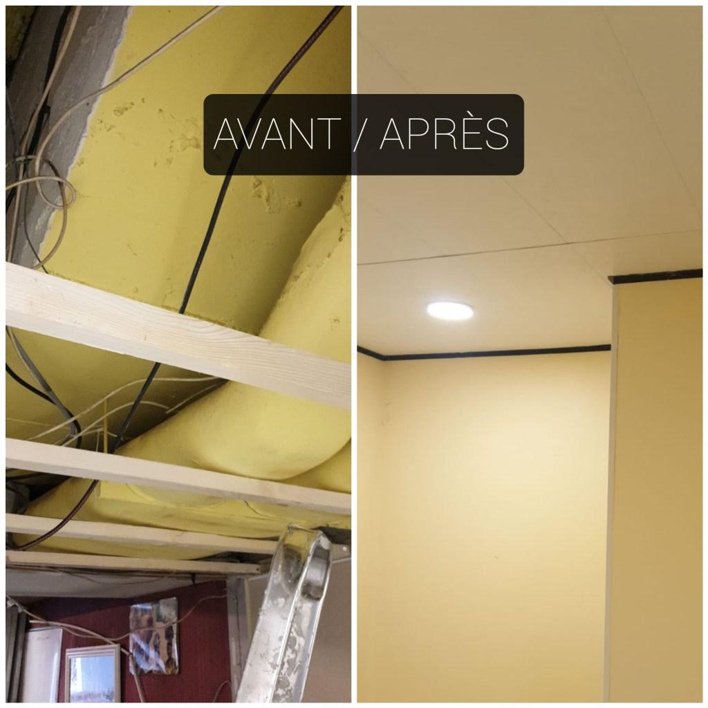 Rénovation local associatif à Saint Denis