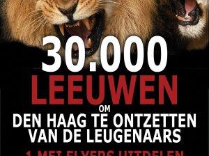 30000 leeuwen om Den Haag te ontzetten